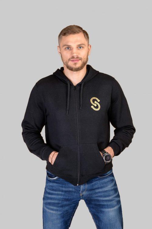 SVlines_Sport_Style_No.1_ Vyriškas_džemperis_su_gobtuvu_ir_užtrauktuku
